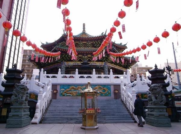 横濱媽祖廟画像
