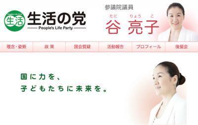 しらべぇ0313谷亮子