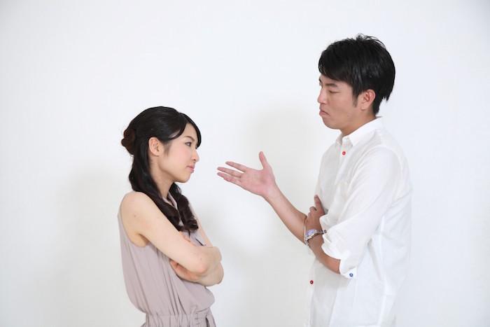 男女の喧嘩
