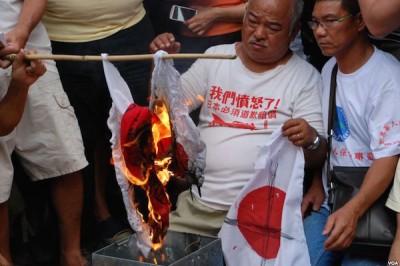 反日デモ2012