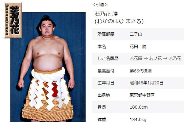 (画像は日本相撲協会のスクリーンショット)