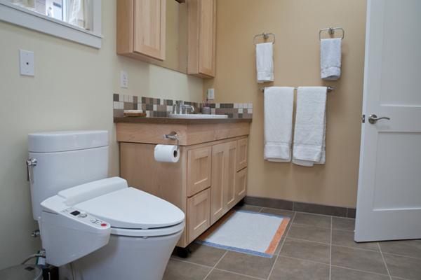 アメリカ シャワー トイレ