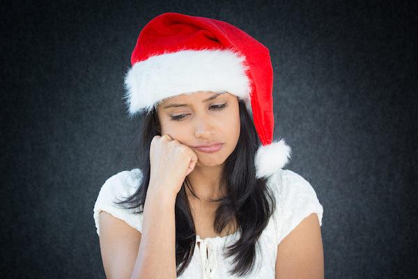 クリスマス女性