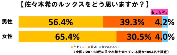 佐々木希グラフ1