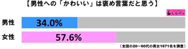 男性かわいいグラフ1