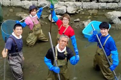 池の水ぜんぶ抜く大作戦