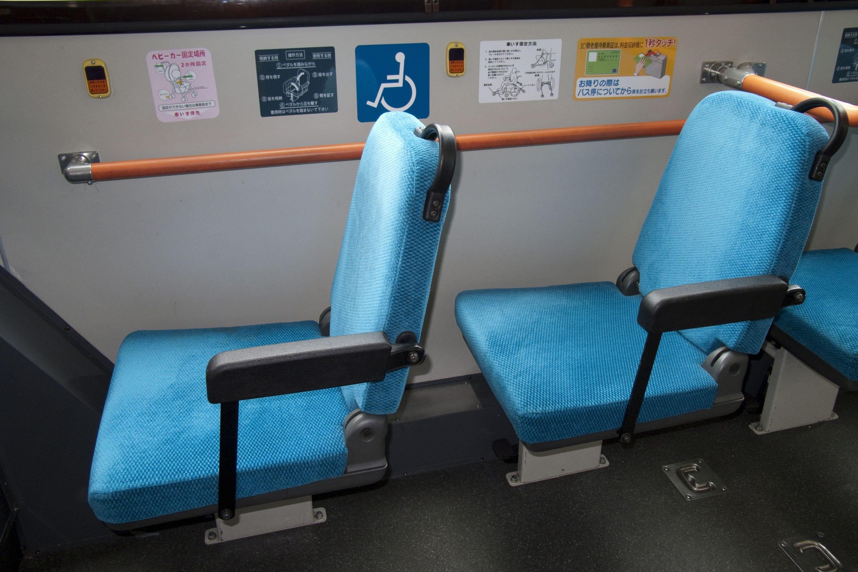 バスの優先席