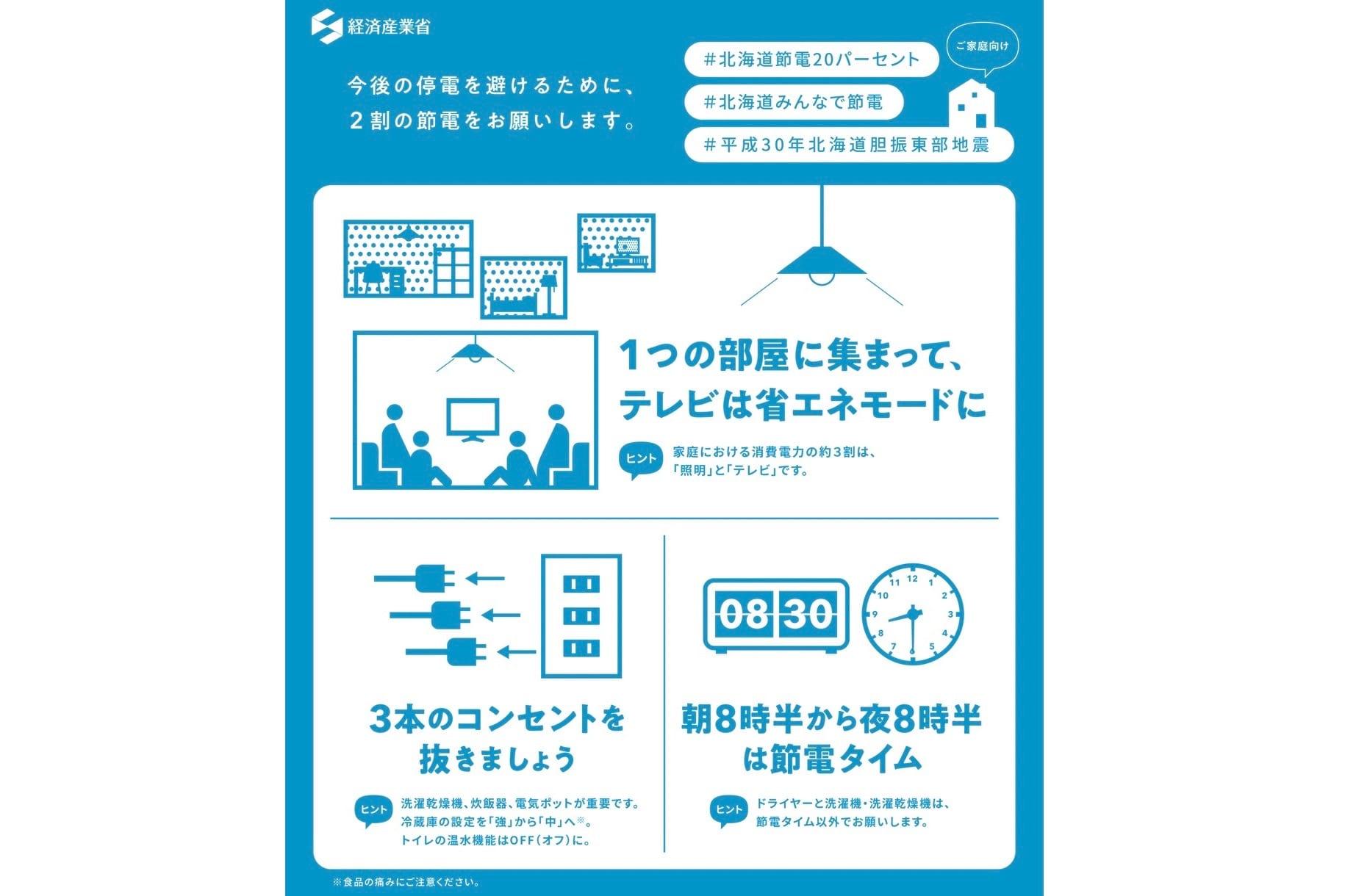 北海道節電