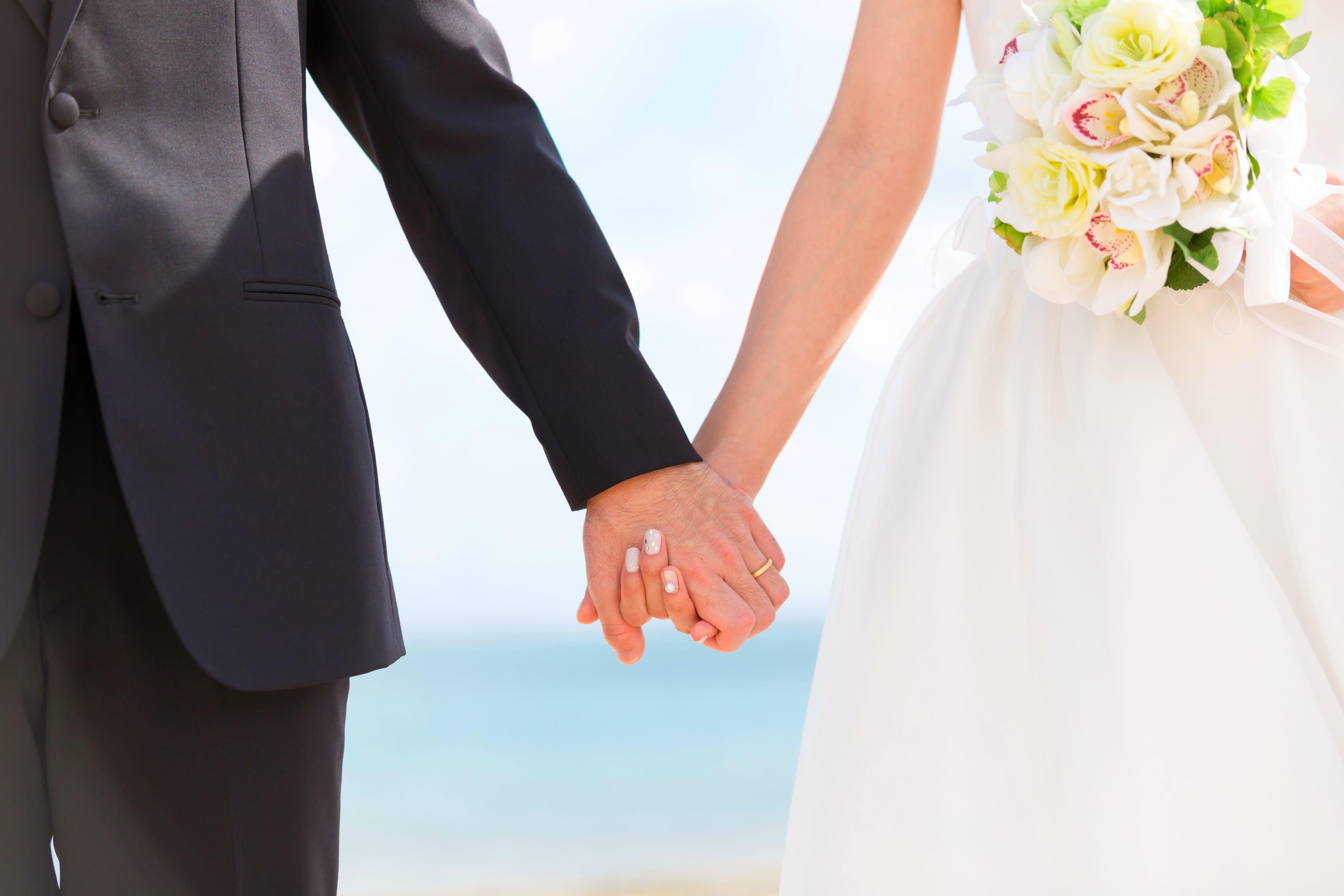 結婚式馴れ初め