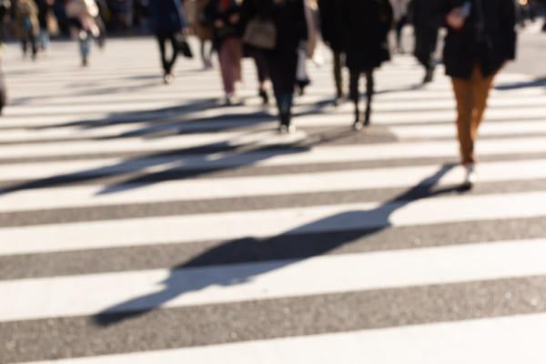 横断歩道ない時