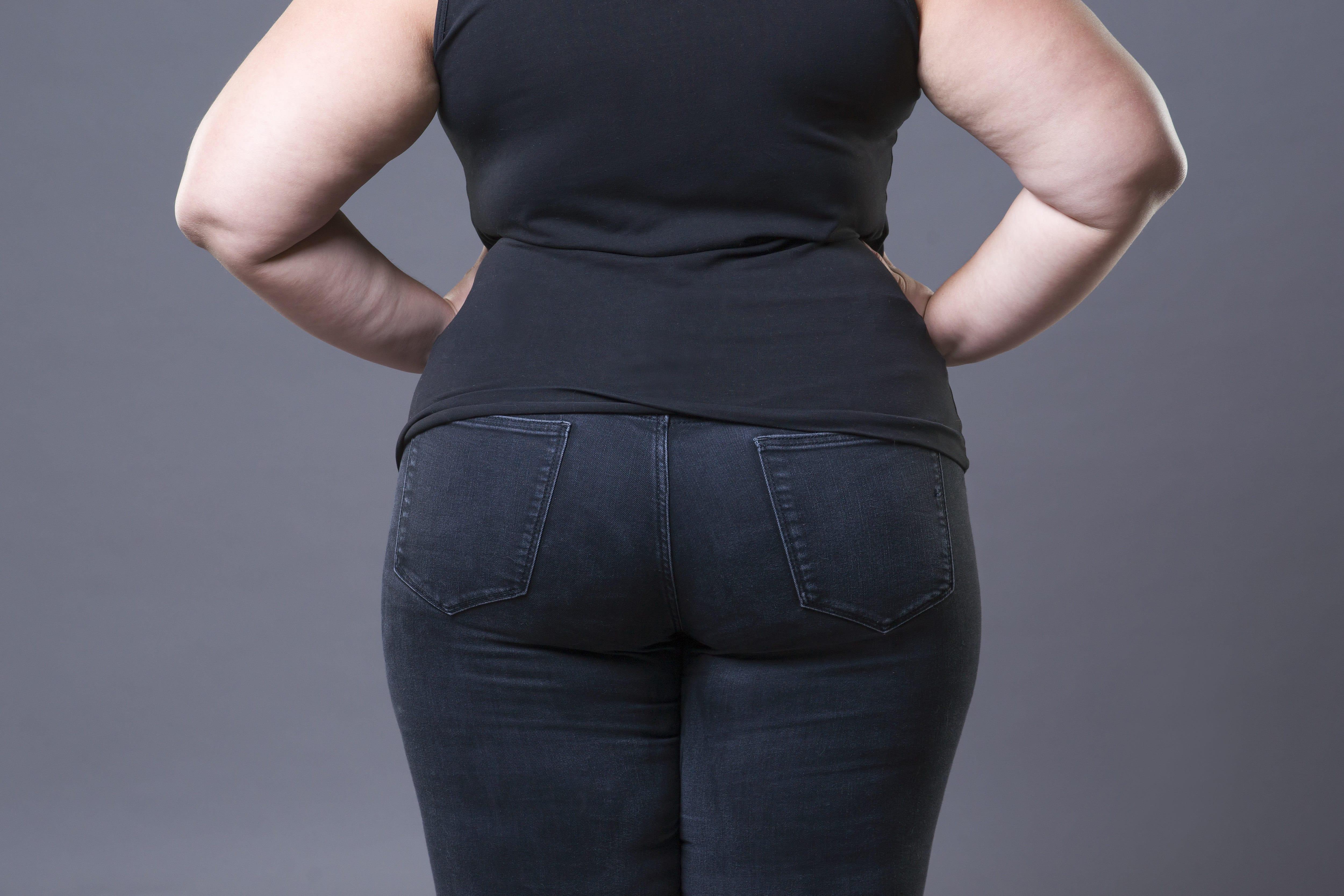太った女性