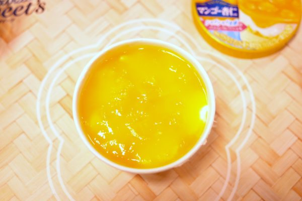 マンゴー杏仁アイス