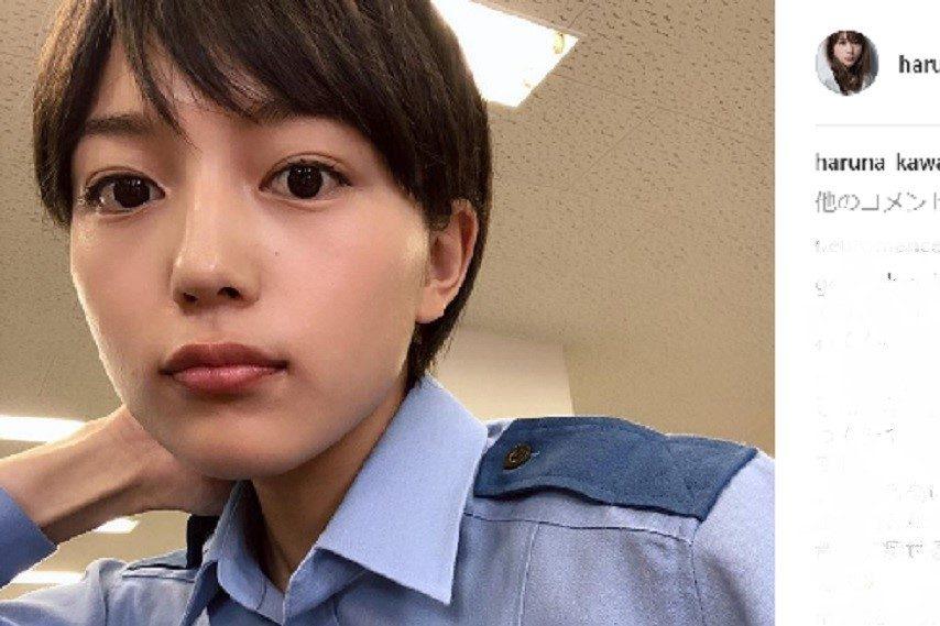 川口春奈の公式Instagramのスクリーンショット
