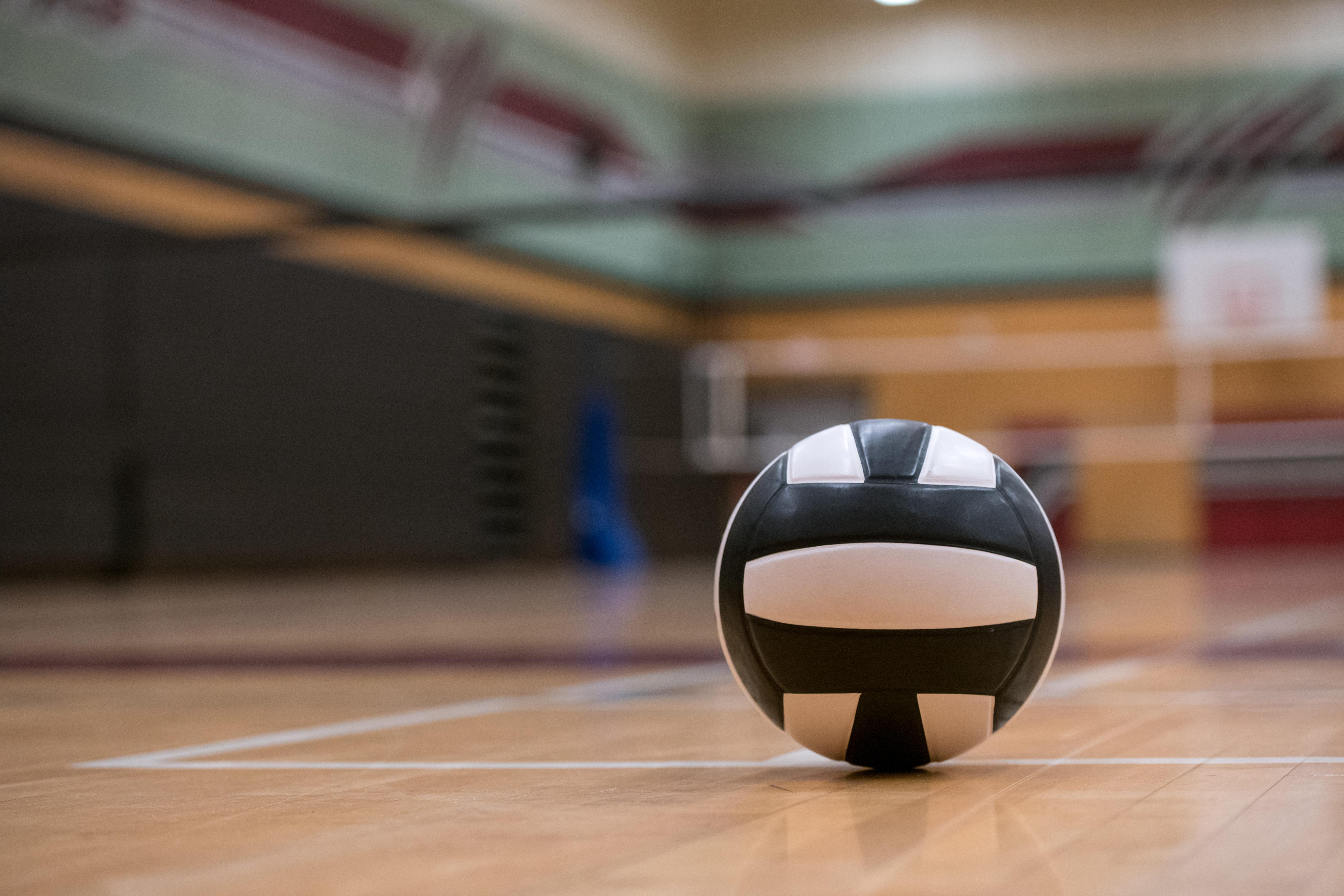 バレーボール、体育館