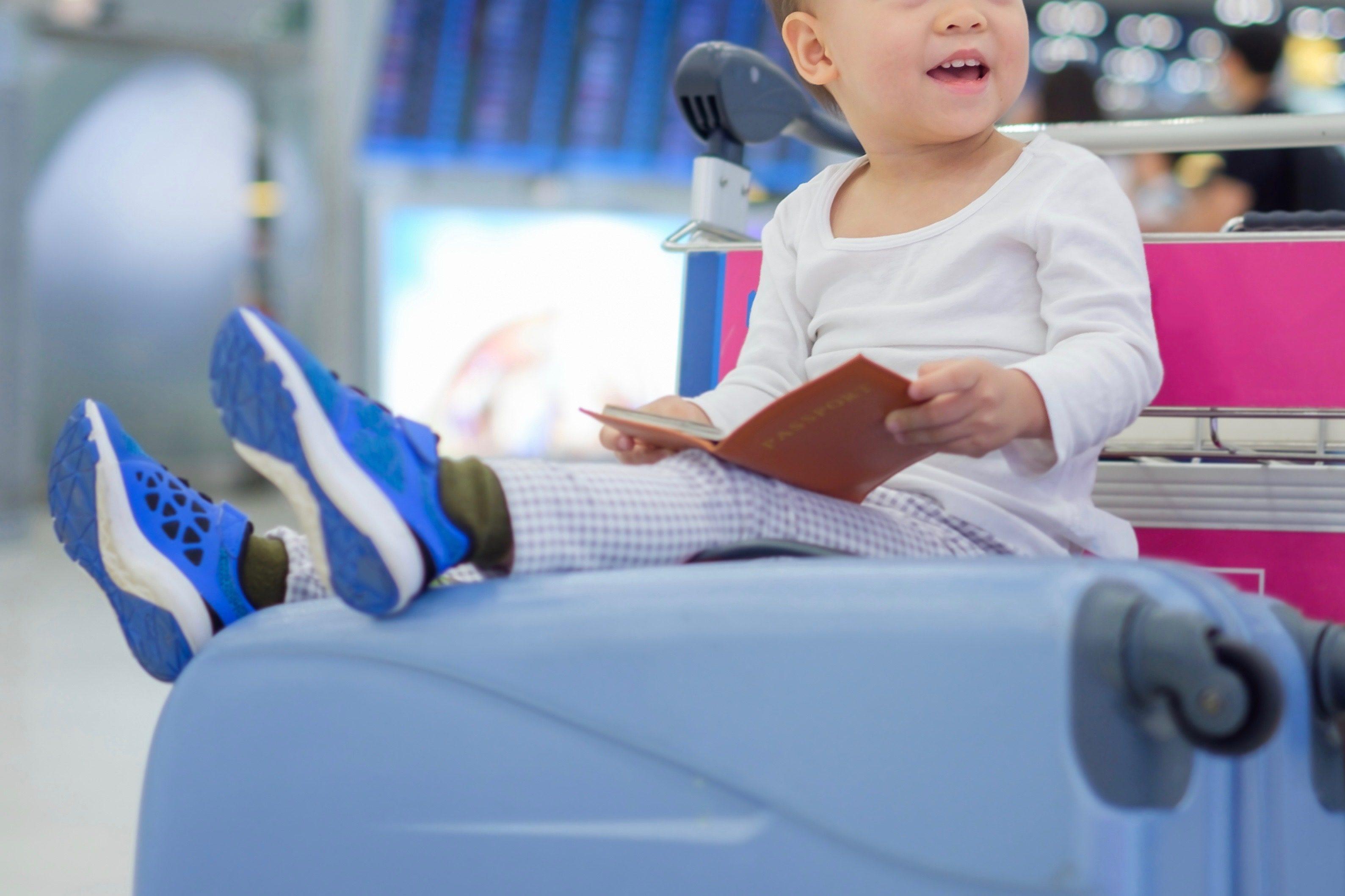 空港赤ちゃん
