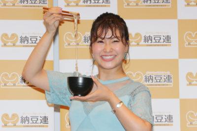 村上佳菜子、納豆クイーンに 「世界に納豆の美味しさ発信したい」と熱い思いも