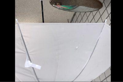 小川菜摘(ツバメの巣を守る傘)