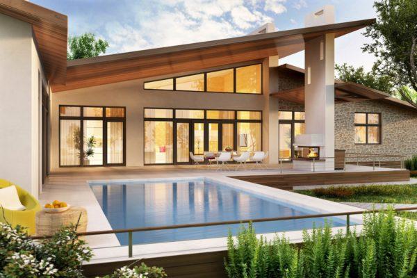 豪華な家に住みたい
