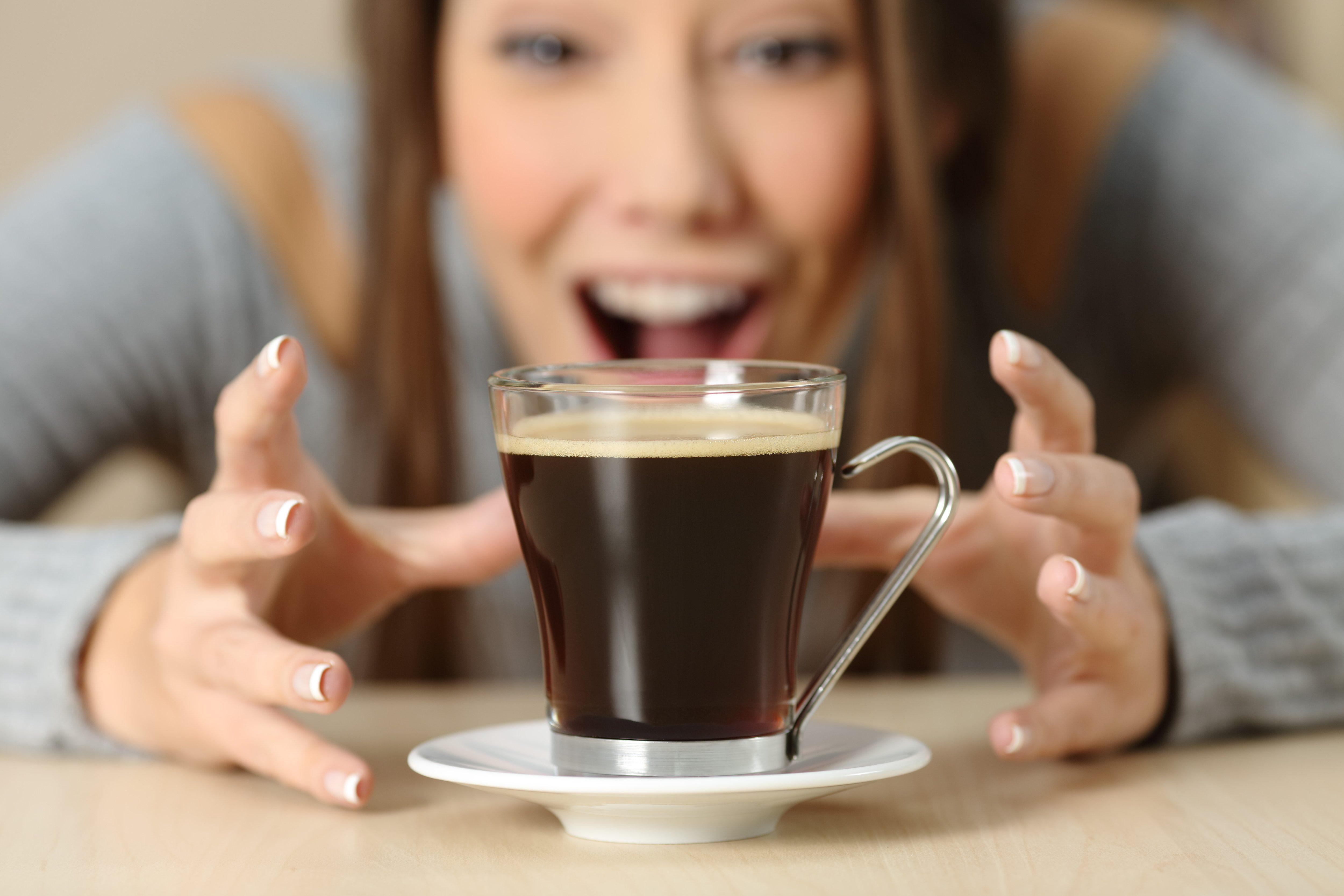コーヒー・女性