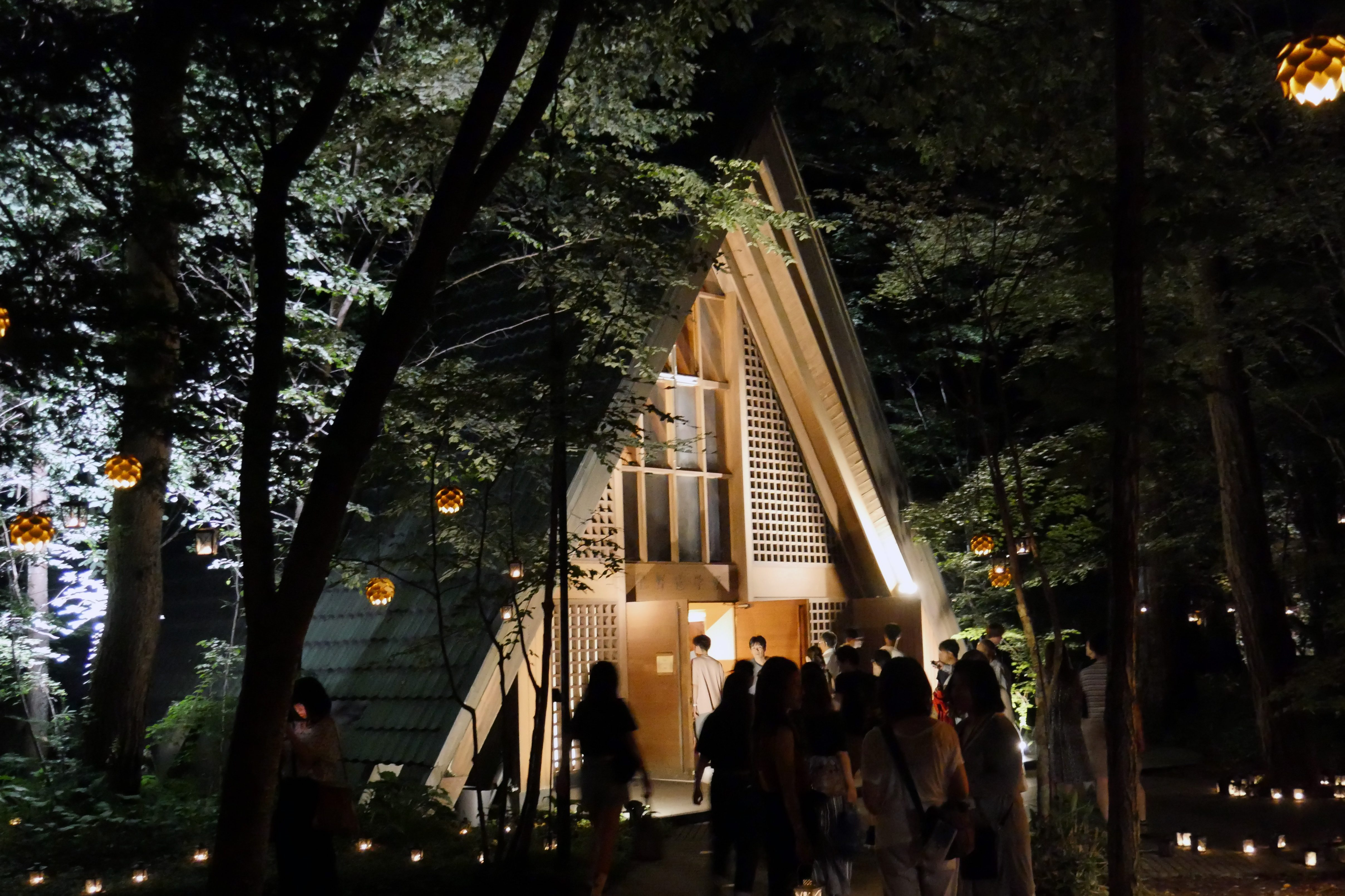 軽井沢高原教会