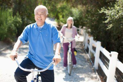 高齢者自転車