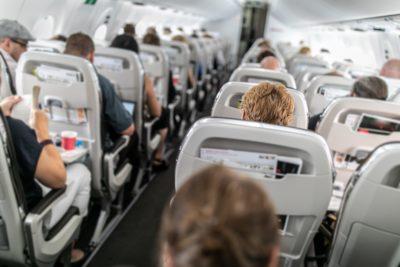 飛行機・機内