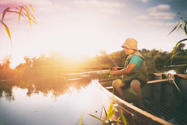 釣り 少年