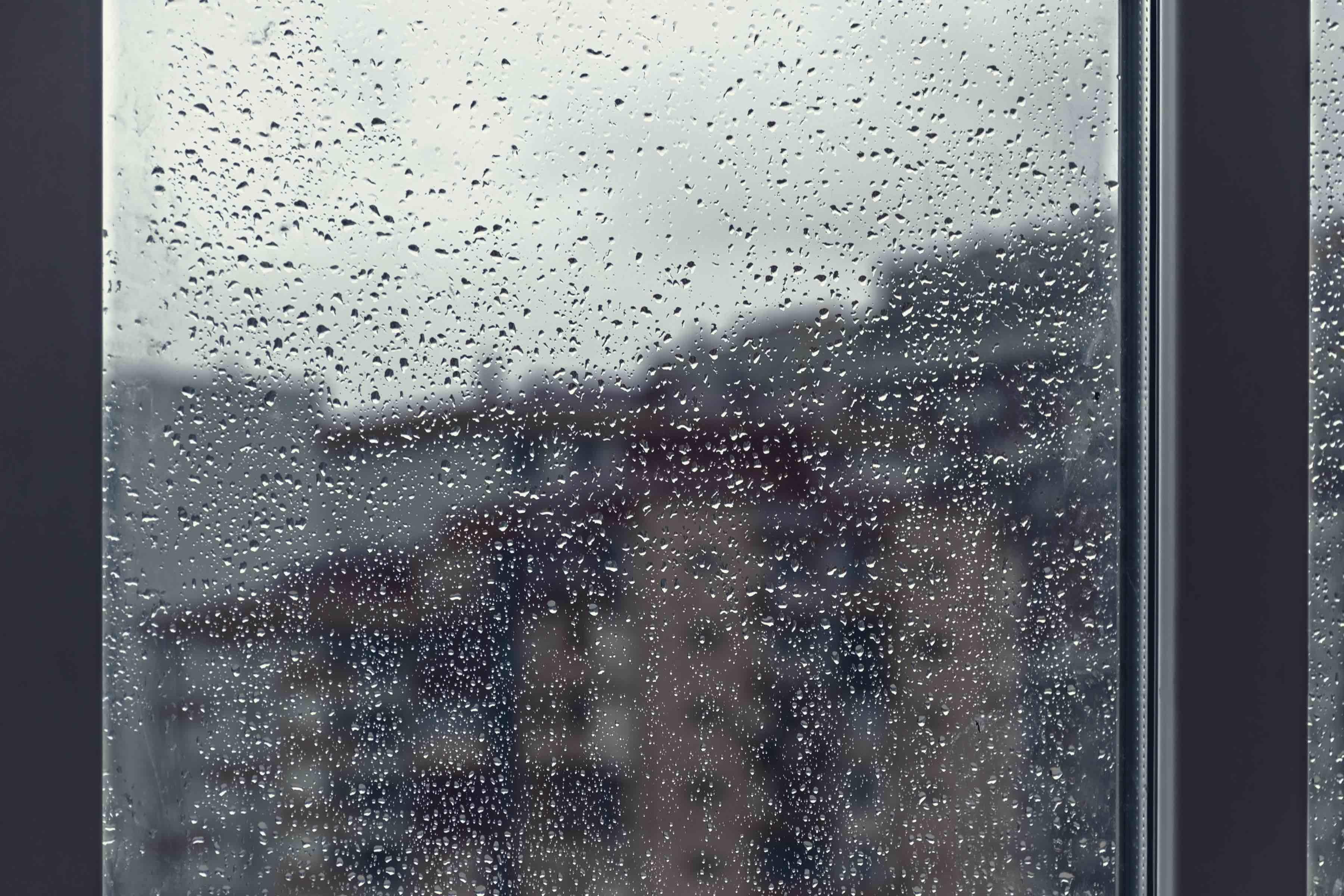 台風 窓 段ボール
