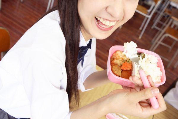 女子高生 お弁当