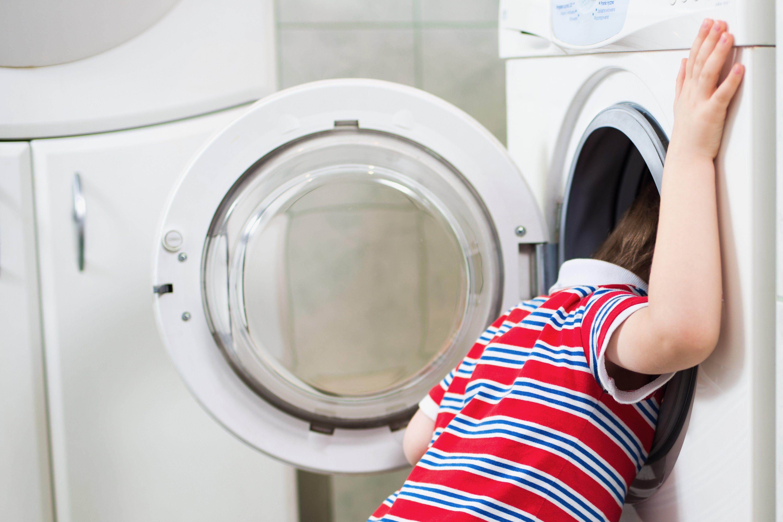 洗濯機・子供