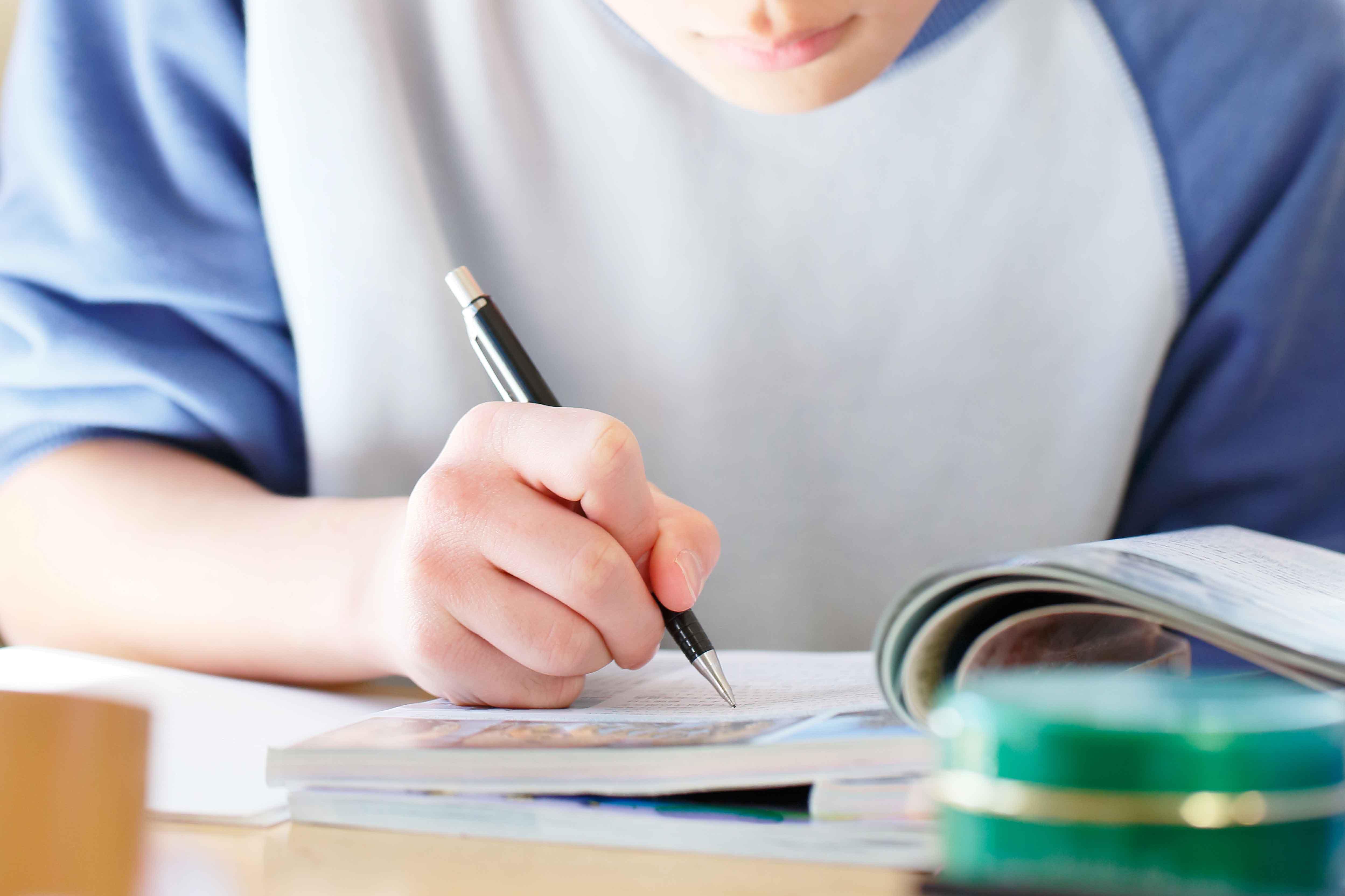 学生の宿題