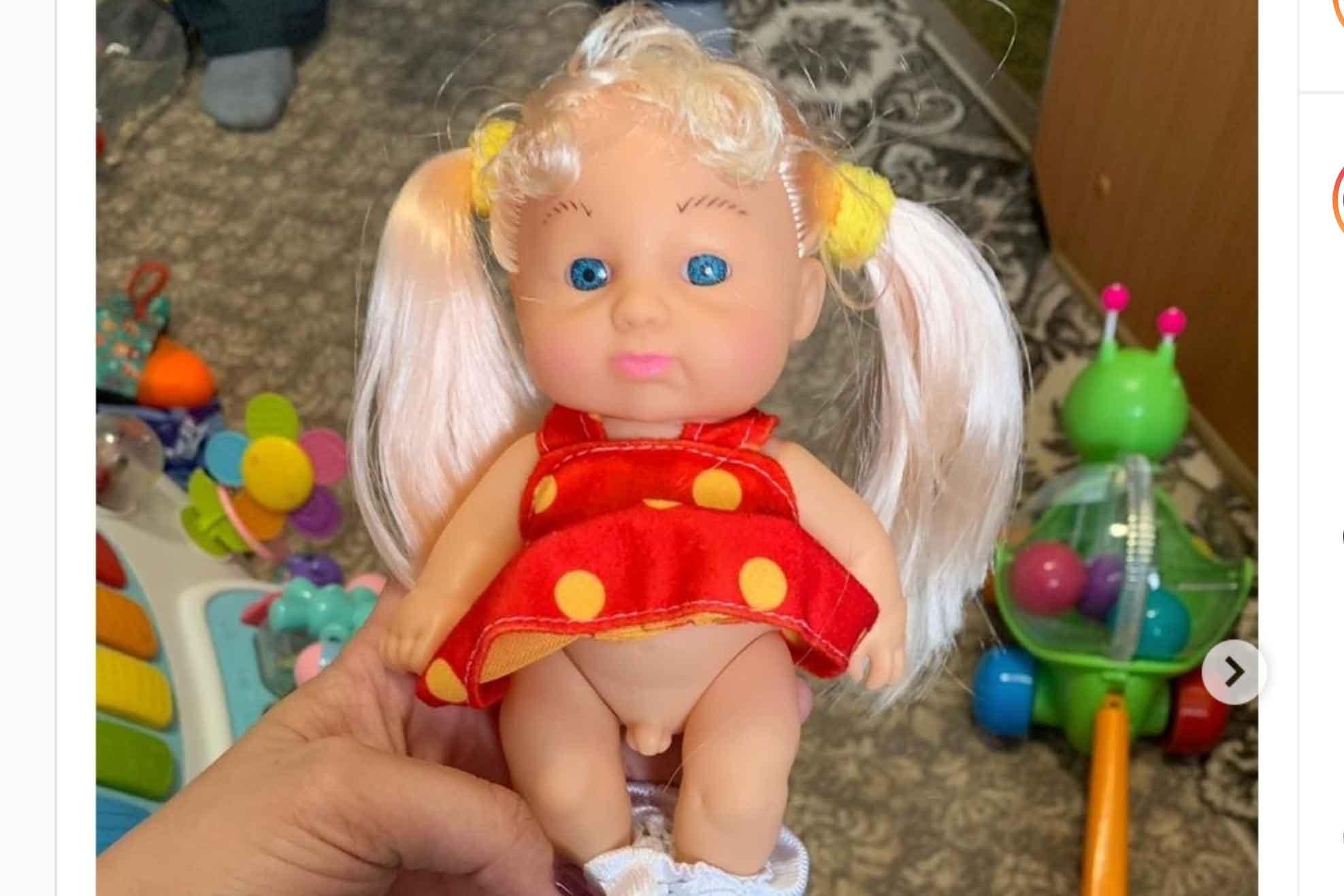 トランスジェンダーの子供の人形