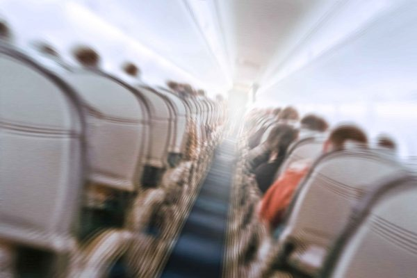 機内パニック