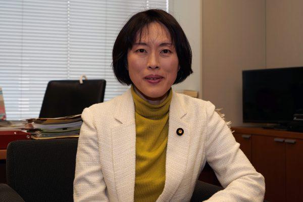 日本共産党・田村智子参院議員