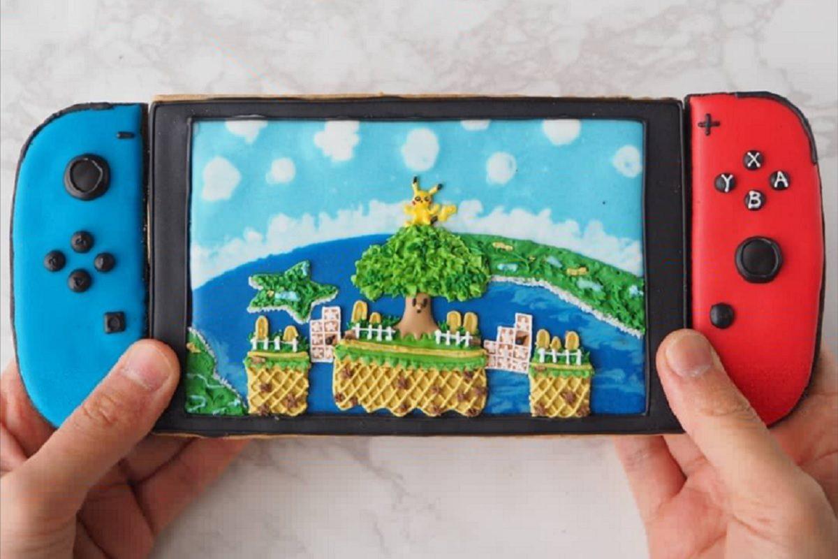 NintendoSwitchアイシングクッキー
