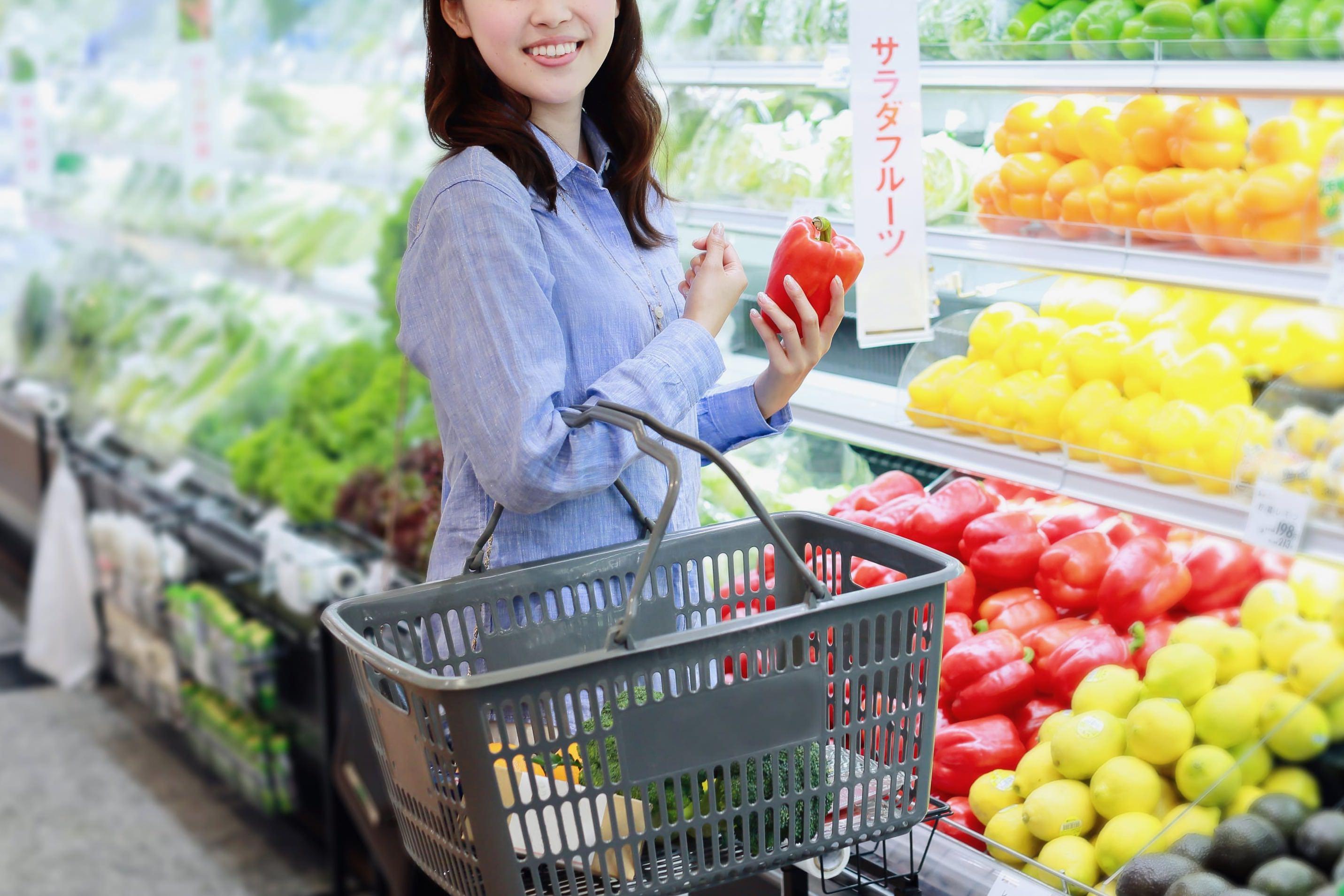 スーパーマーケット・買い物