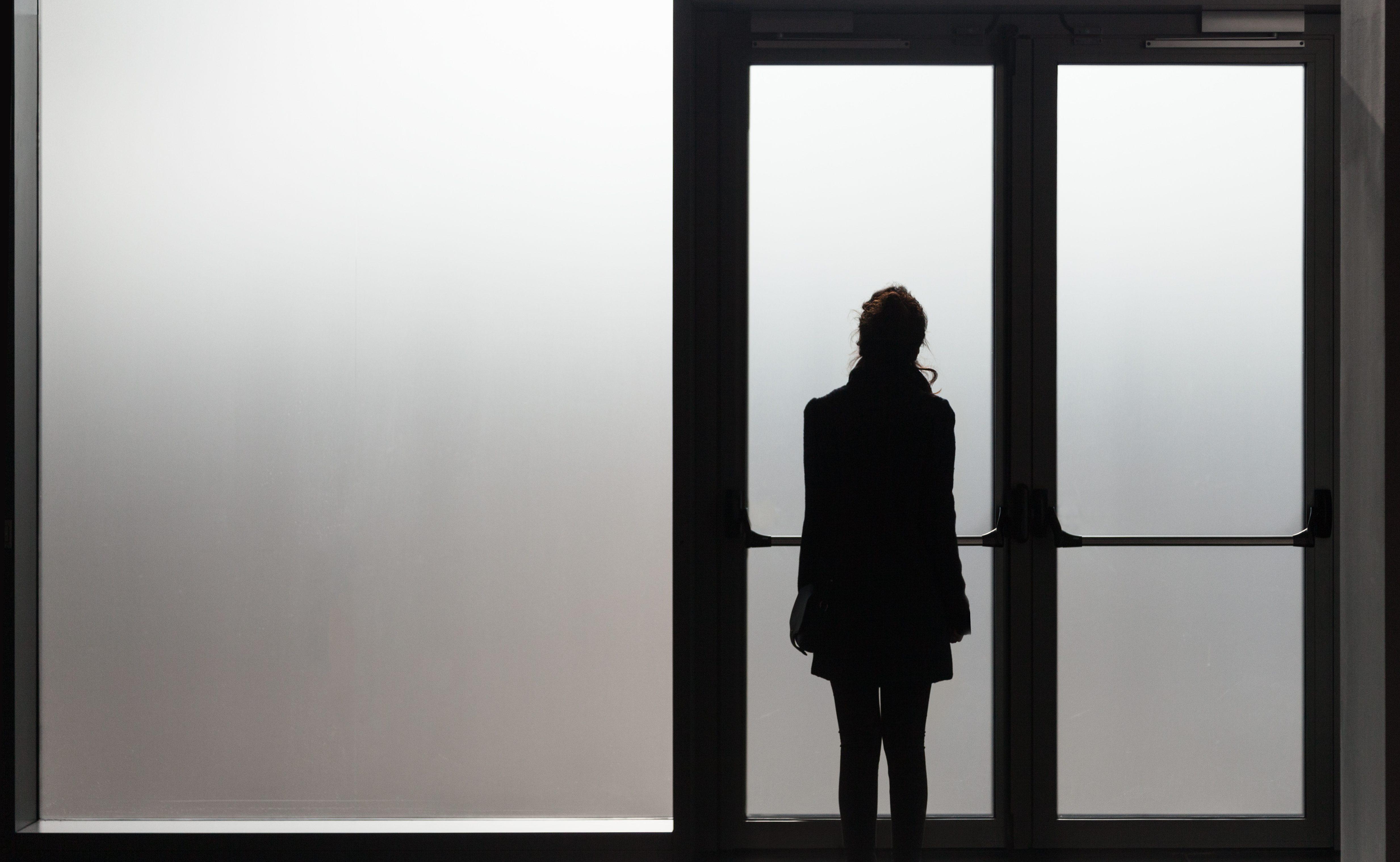 鬱病の女性