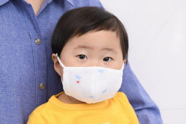 ミキハウス子供用マスク