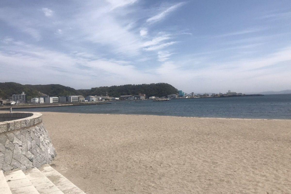 4月26日の久里浜海岸