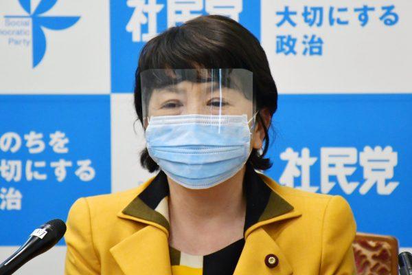 社民党・福島瑞穂党首