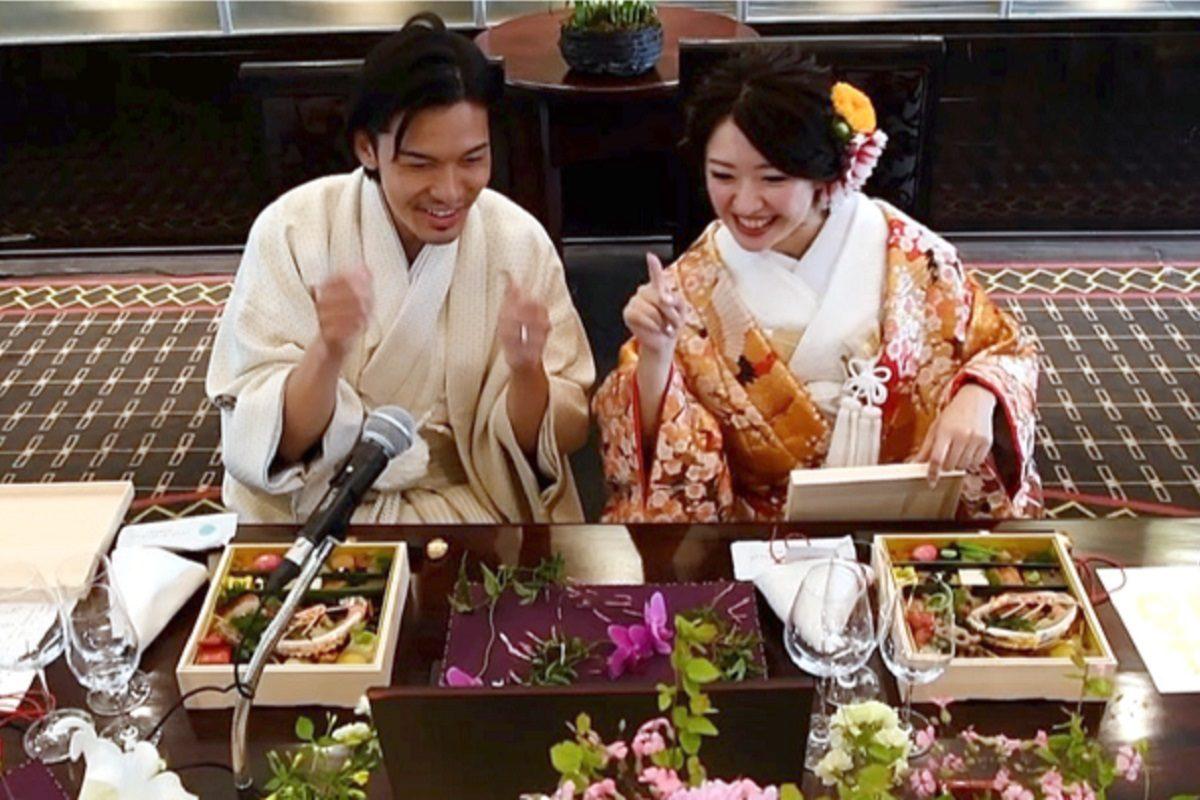 原宿東郷記念館リモート結婚式