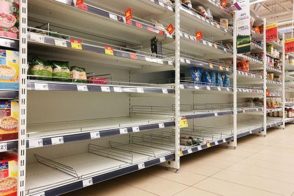 コロナの影響でスーパーから完全に消えたモノ 「目処も立たない…」