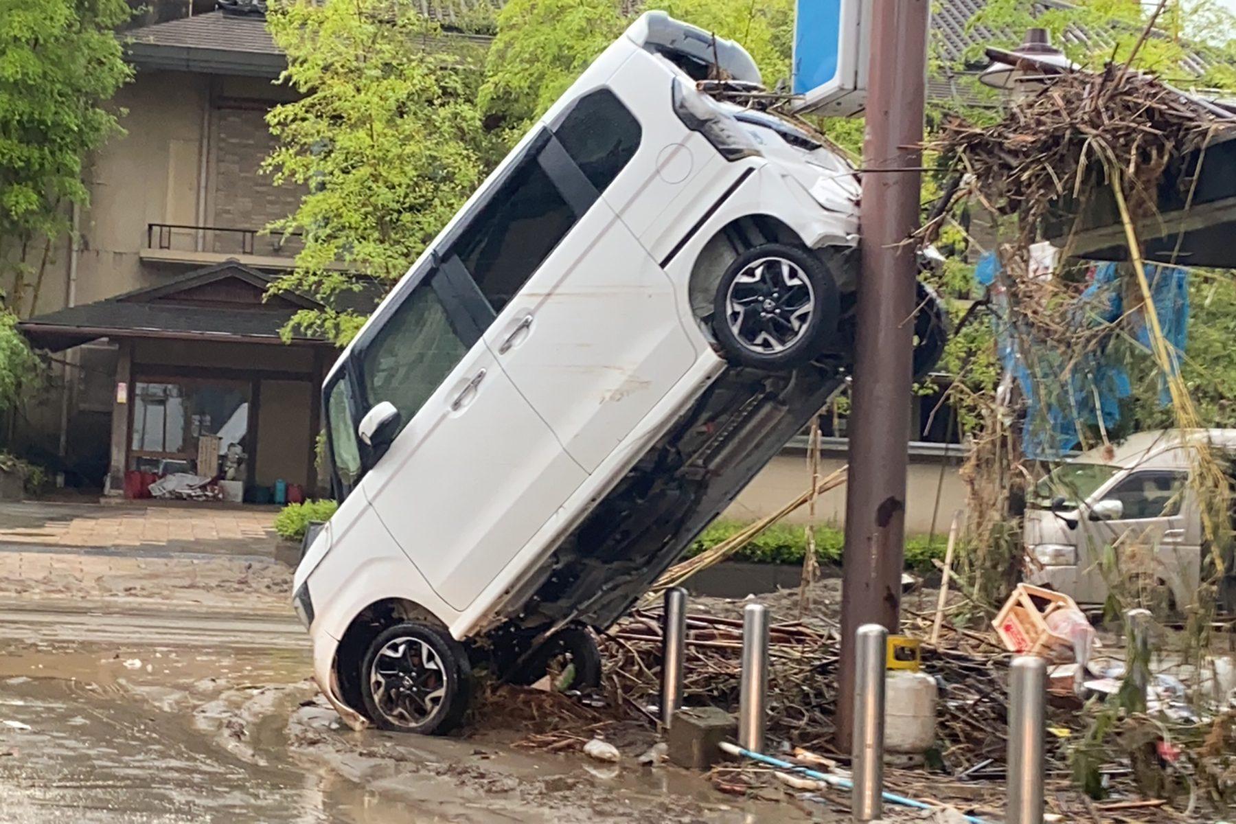 九州豪雨 球磨川