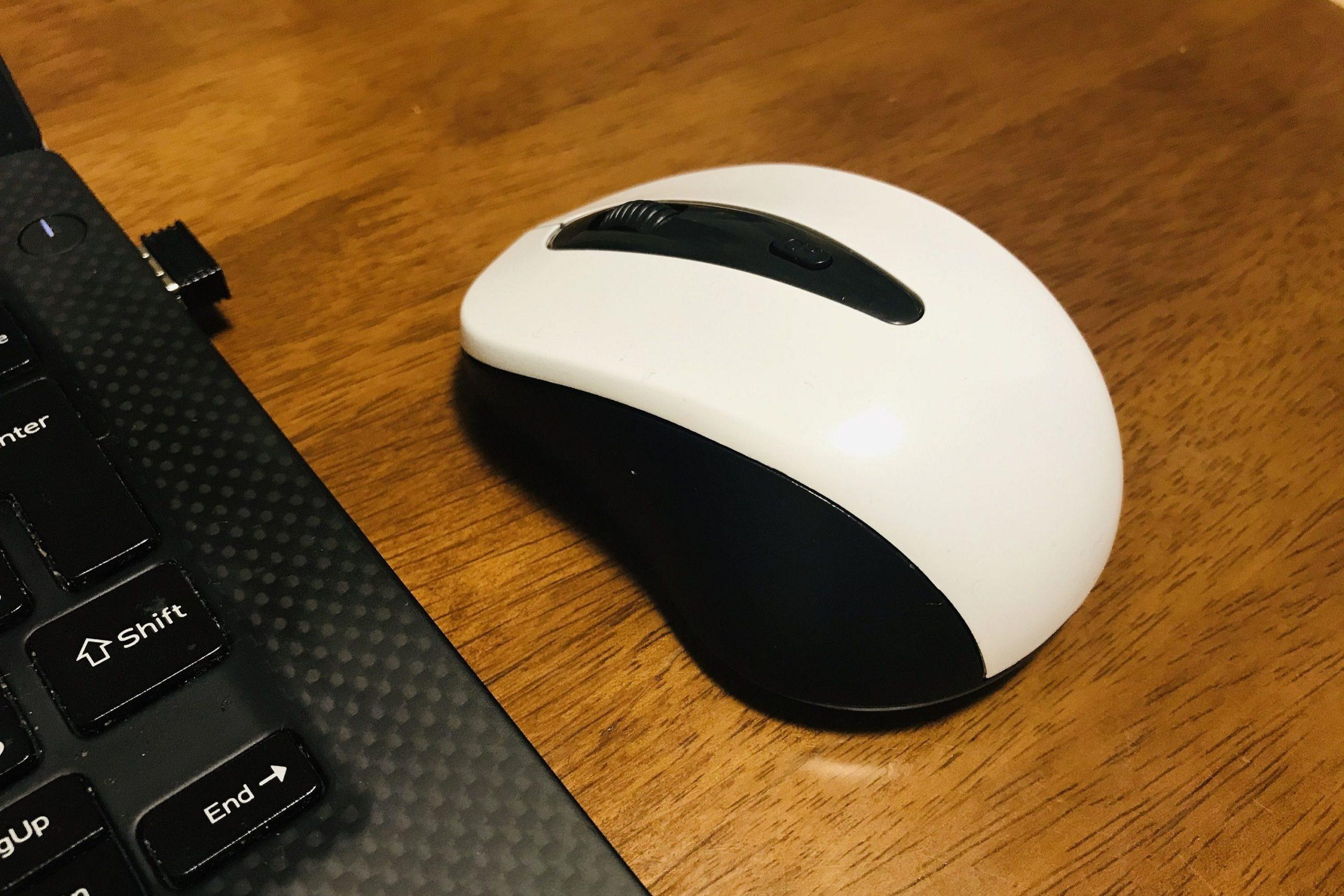ダイソー「ワイヤレスマウス」