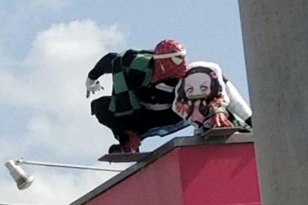鬼滅のスパイダーマン