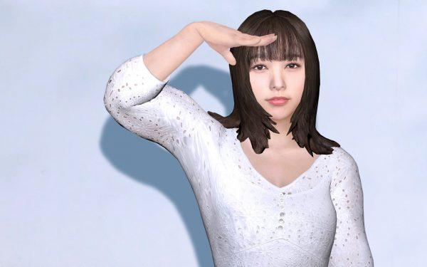 桜井日奈子が番組企画でバーチャル化 チョコプラ・長田とのキスも話題に