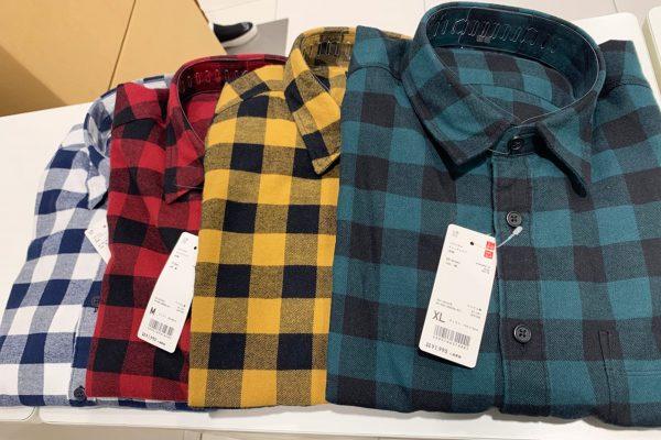 「炭治郎のネルシャツ」と話題の一着 ユニクロ店頭で最も品薄なカラーは…