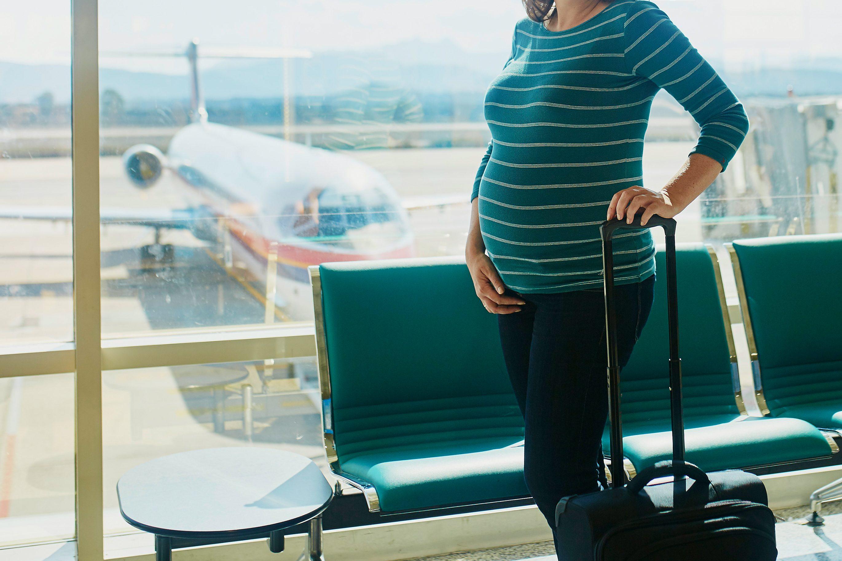 妊娠中の旅行