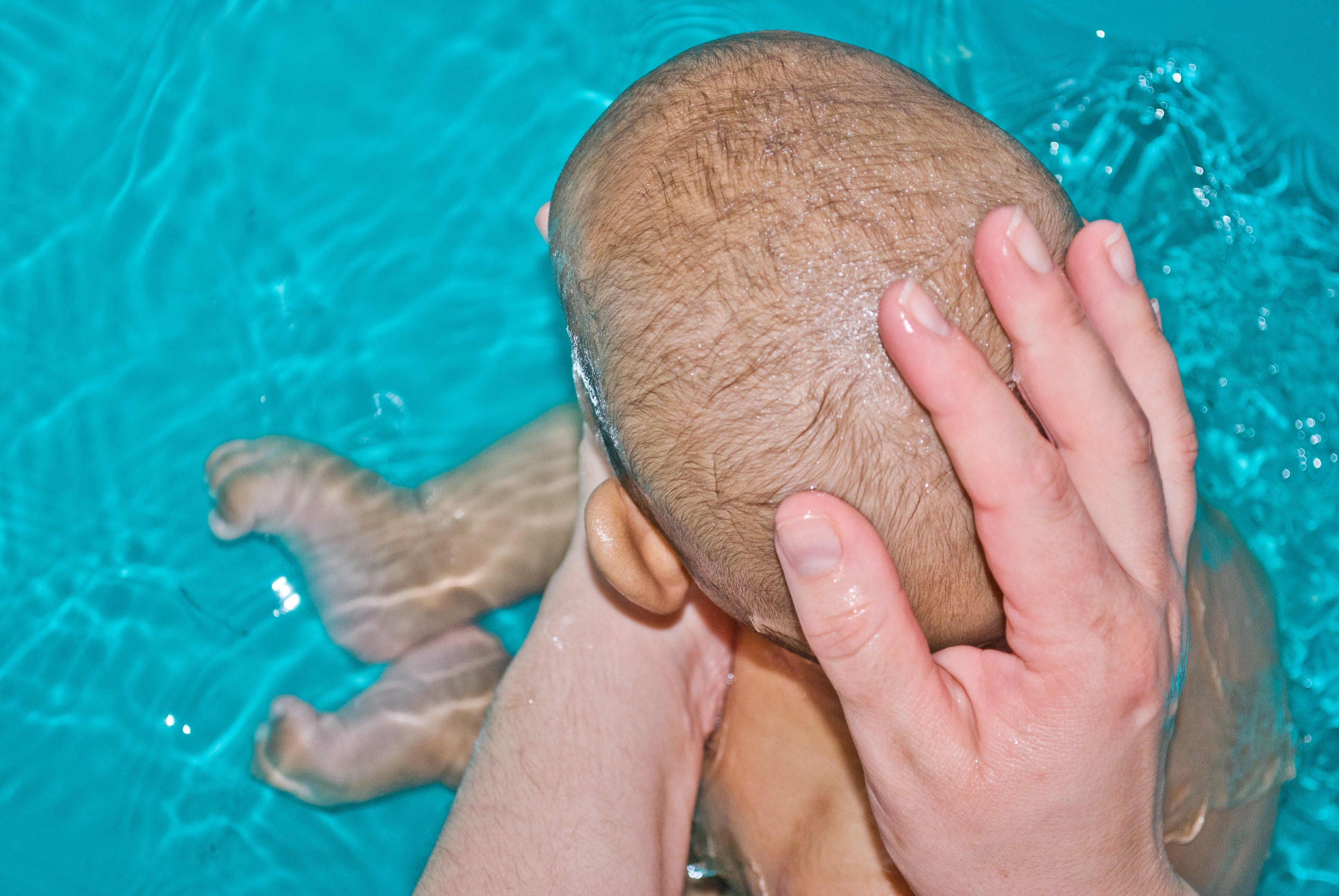 赤ちゃんの入浴