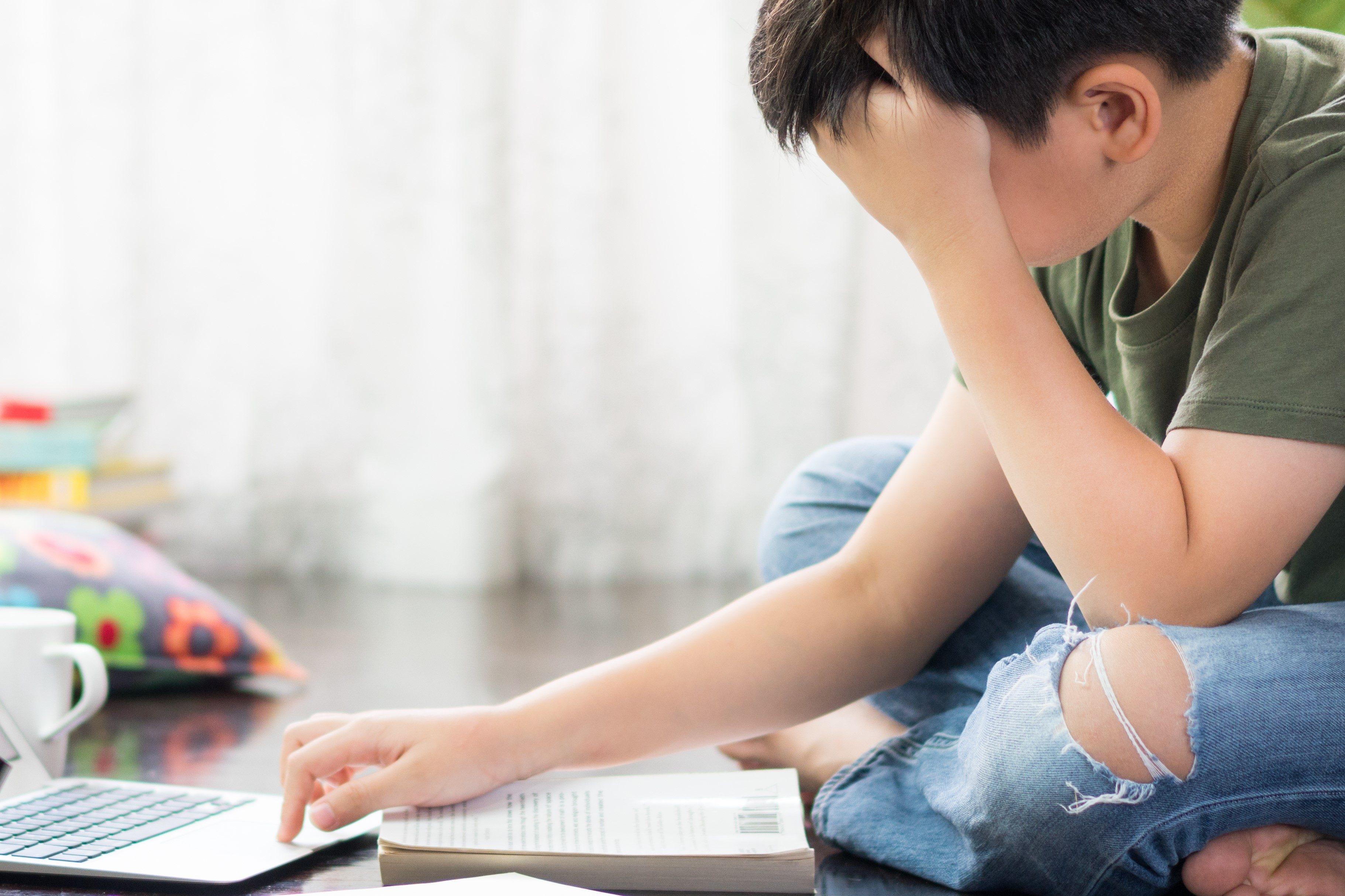 オンライン授業のストレス
